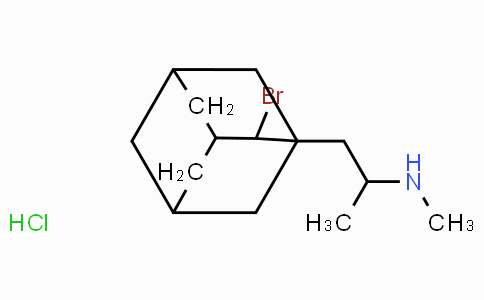 2-Bromo-1-(2-methylaminopropyl)adamantane hydrochloride