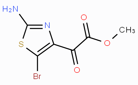 Methyl 2-(2-amino-5-bromothiazol-4-yl)-2-oxoacetate