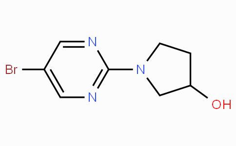 1-(5-Bromopyrimidin-2-yl)-3-pyrrolidinol