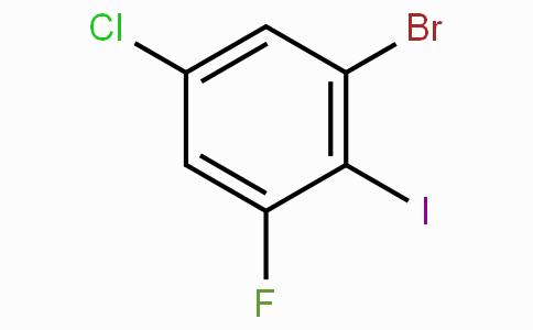 1-Bromo-5-chloro-3-fluoro-2-iodobenzene