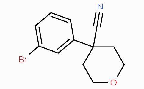 4-(3-Bromophenyl)tetrahydropyran-4-carbonitrile