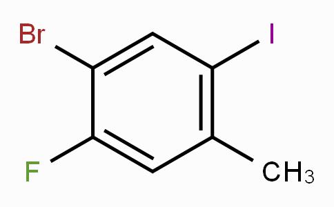 4-Bromo-2-iodo-5-fluorotoluene