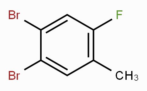 2-氟-4,5-二溴甲苯
