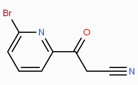 6-Bromo-beta-oxo-2-pyridinepropanenitrile