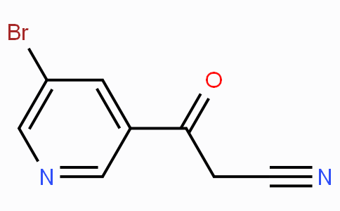 5-Bromo-beta-oxo-3-pyridinepropanenitrile