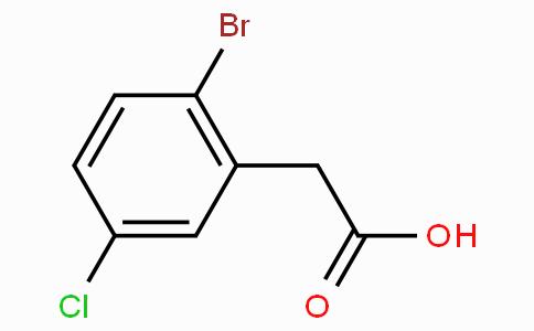 2-Bromo-5-chlorophenylacetic acid