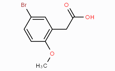 5-Bromo-2-methoxyphenylacetic acid