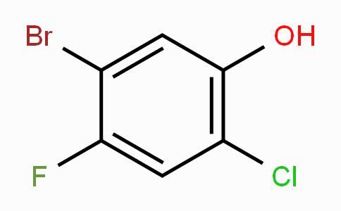 5-Bromo-2-chloro-4-fluorophenol