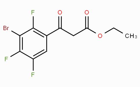 Ethyl 3-bromo-2,4,5-trifluorobenzoylacetate