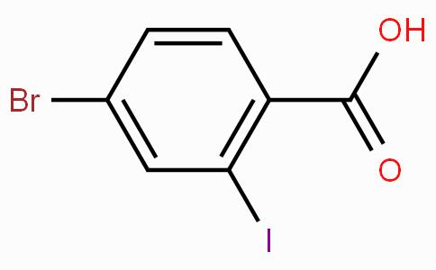 4-溴-2-碘苯甲酸