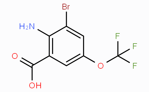 2-Amino-3-bromo-5-(trifluoromethoxy)benzoic acid