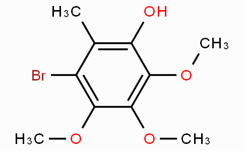 3-Bromo-4,5,6-trimethoxy-2-methyl-phenol