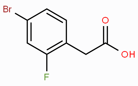 4-Bromo-2-fluorophenylacetic acid