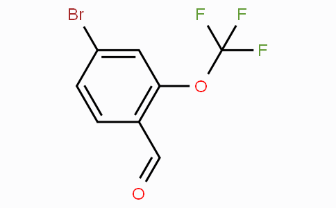 4-Bromo-2-(trifluoromethoxy)benzaldehyde