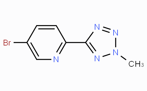 5-溴-2-(2-甲基-2H-四唑-5-基)-吡啶