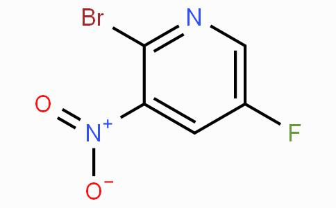 2-Bromo-5-fluoro-3-nitropyridine