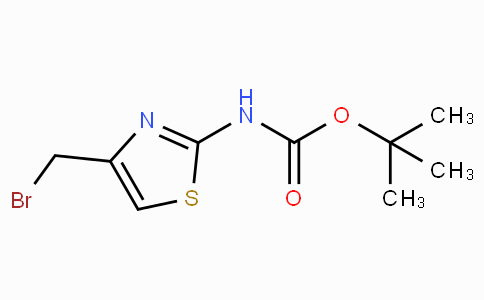 Tert-butyl 4-(bromomethyl)thiazol-2-ylcarbamate