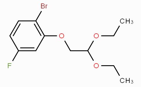 1-Bromo-2-(2,2-diethoxyethoxy)-4-fluorobenzene
