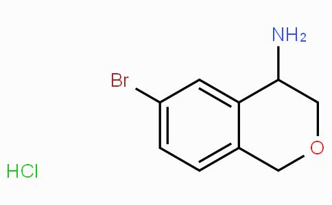 6-溴-3,4-二氢-1H-异色烯-4-氨基盐酸盐