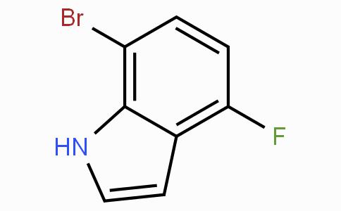 7-溴-4-氟吲哚
