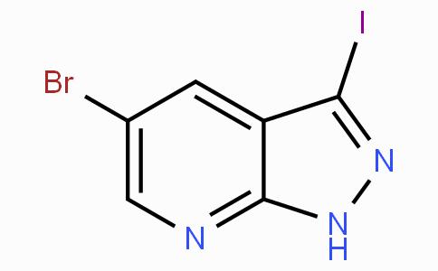 5-Bromo-3-iodo-1H-pyrazolo[3,4-b]pyridine