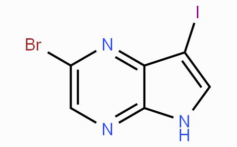 5-溴-3-碘-7-氮杂吲哚
