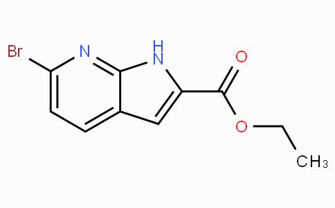Ethyl 6-Bromo-1H-pyrrolo[2,3-b]pyridine-2-carboxylate