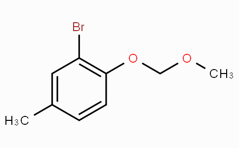 2-Bromo-1-(methoxymethoxy)-4-methylbenzene