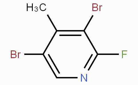 2-氟-3,5-二溴-4-甲基吡啶