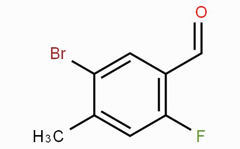 5-溴-2-氟-4-甲基苯甲醛