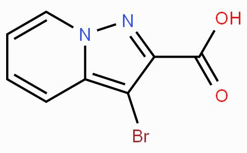3-溴吡唑并[1,5-a]吡啶-2-羧酸