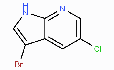 3-溴-5-氯-1H-吡咯并[2,3-b]吡啶