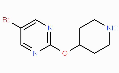 5-Bromo-2-(piperidin-4-yloxy)pyrimidine