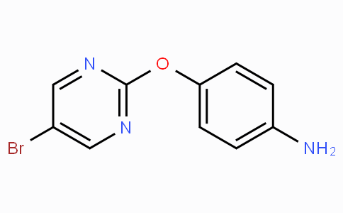 4-(5-Bromopyrimidin-2-yloxy)benzenamine