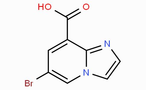 6-Bromoimidazo[1,2-a]pyridine-8-carboxylic acid
