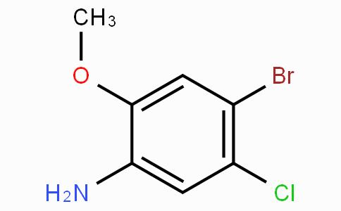 4-Bromo-3-chloro-6-methoxy aniline
