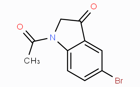 1-Acetyl-5-bromoindolin-3-one