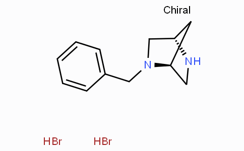 (1S,4S)-2-Benzyl-2,5-diazabicyclo(2.2.1)heptane dihydrobromide