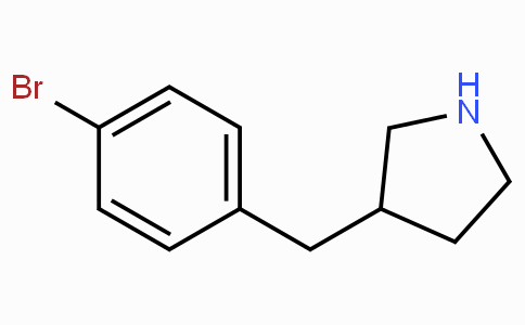 3-(4-Bromobenzyl)pyrrolidine