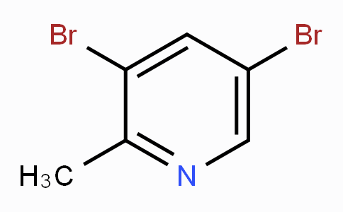 3,5-Dibromo-2-methylpyridine
