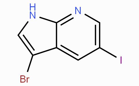3-Bromo-5-iodo-1H-pyrrolo[2,3-b]pyridine
