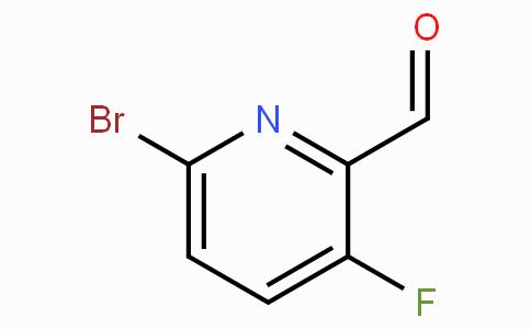 6-Bromo-3-fluoro-2-formylpyridine