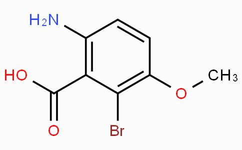 2-Amino-6-bromo-5-methoxybenzoic acid