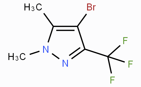 4-Bromo-1,5-dimethyl-3-(trifluoromethyl)-1H-pyrazole