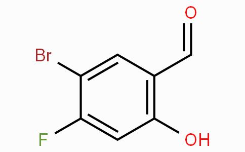 5-Bromo-4-fluoro-2-hydroxybenzaldehyde