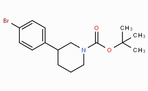 Tert-butyl 3-(4-bromophenyl)piperidine-1-carboxylate