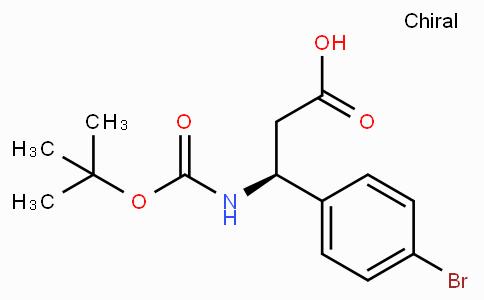 Boc-4-溴-D-beta-苯丙氨酸