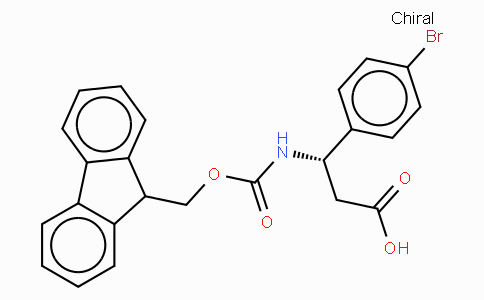 Fmoc-(S)-3-amino-3-(4-bromo-phenyl)-propionic acid