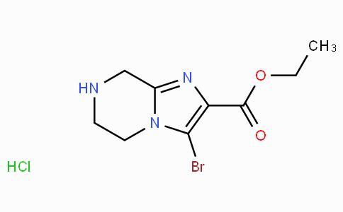 Ethyl 3-bromo-5,6,7,8-tetrahydroimidazo[1,2-a]pyrazine-2-carboxylate hydrochloride