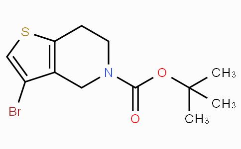 Tert-butyl 3-Bromo-6,7-dihydrothieno[3,2-c]pyridine-5(4H)-carboxylate